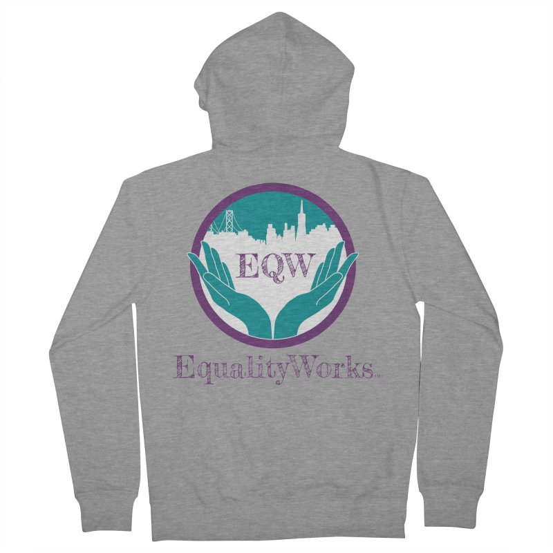 Equality Works Logo Women's Zip-Up Hoody by Equality Works (EQW)