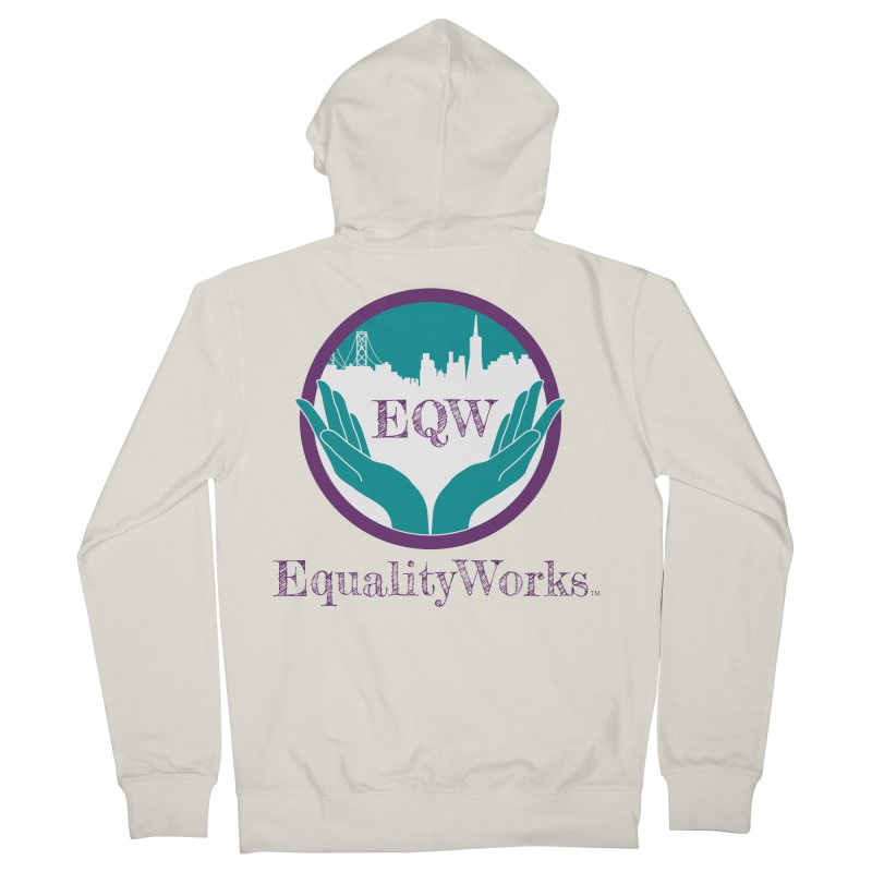 Equality Works Logo Women's French Terry Zip-Up Hoody by Equality Works (EQW)