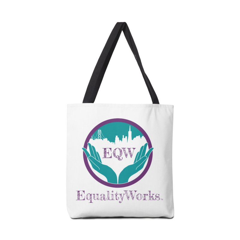 Equality Works Logo Accessories Tote Bag Bag by Equality Works (EQW)