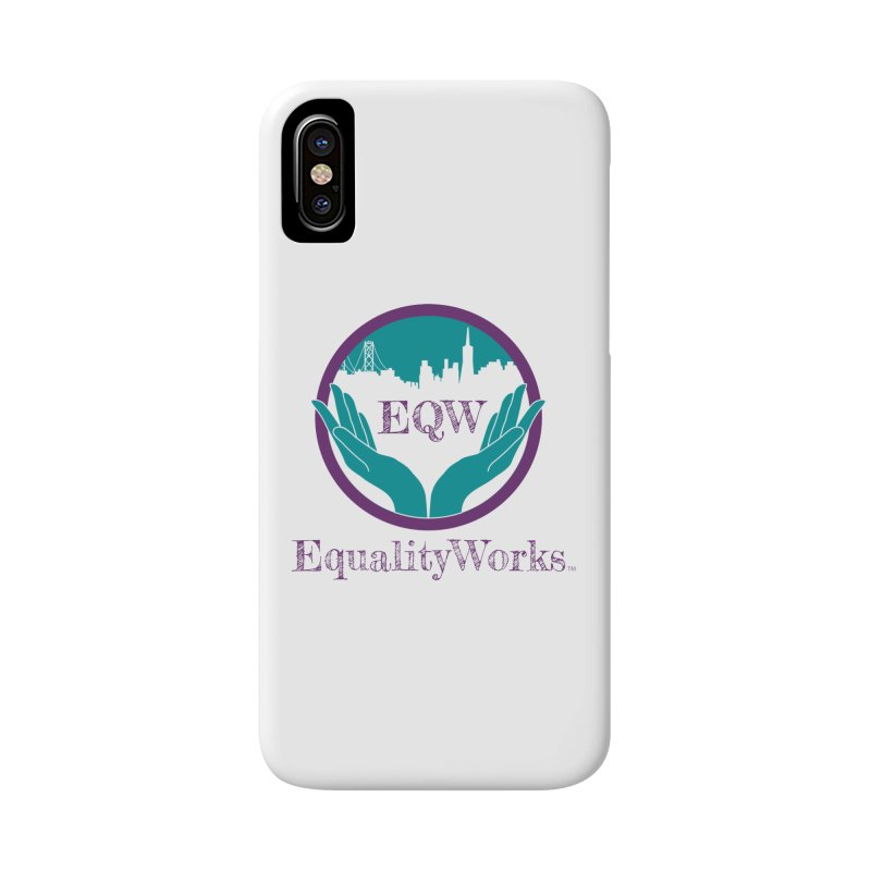 Equality Works Logo Accessories Phone Case by Equality Works (EQW)