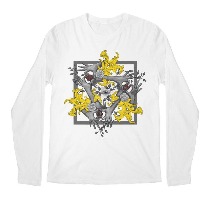 Hands and Hearts Men's Longsleeve T-Shirt by erdavid's Artist Shop