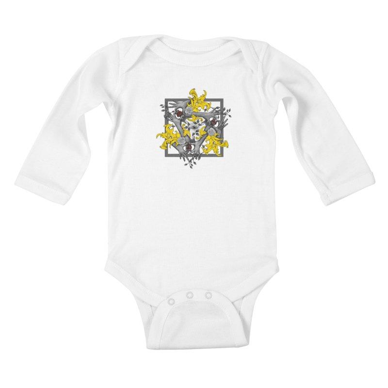 Hands and Hearts Kids Baby Longsleeve Bodysuit by erdavid's Artist Shop