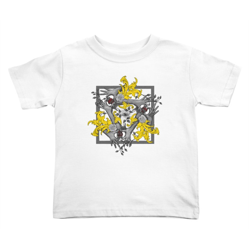 Hands and Hearts Kids Toddler T-Shirt by erdavid's Artist Shop