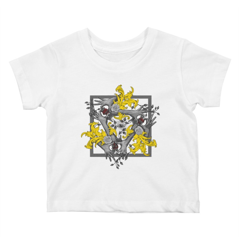 Hands and Hearts Kids Baby T-Shirt by erdavid's Artist Shop