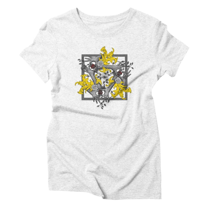 Hands and Hearts Women's Triblend T-shirt by erdavid's Artist Shop