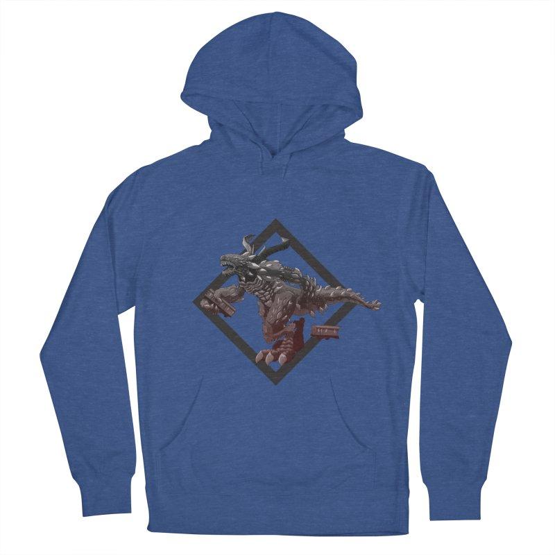 Kaiju Men's Pullover Hoody by erdavid's Artist Shop