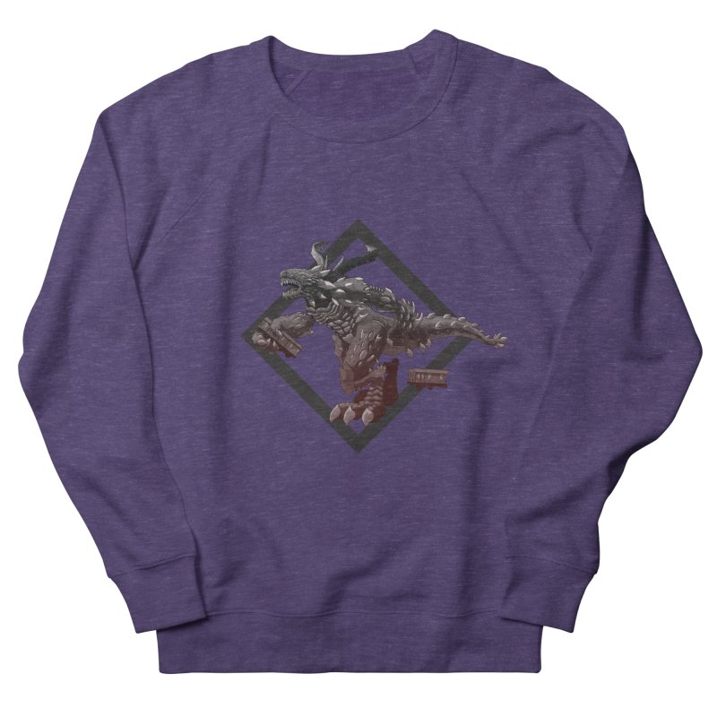 Kaiju Women's Sweatshirt by erdavid's Artist Shop
