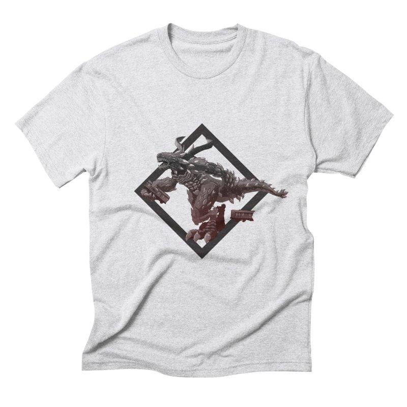 Kaiju Men's Triblend T-Shirt by erdavid's Artist Shop