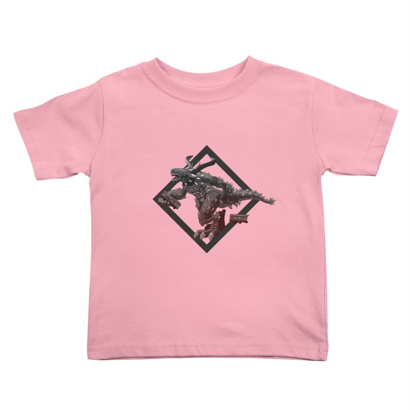 Kaiju Kids Toddler T-Shirt by erdavid's Artist Shop
