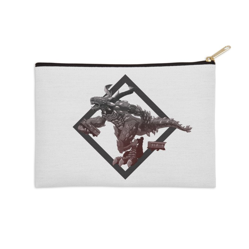 Kaiju Accessories Zip Pouch by erdavid's Artist Shop