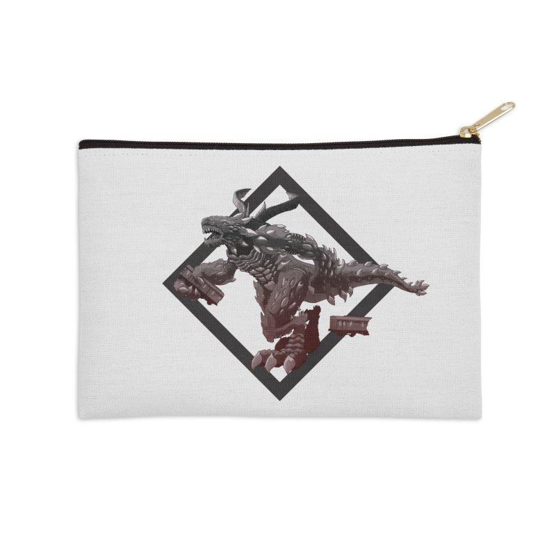 Kaiju Accessories Zip Pouch by erdavid's Artist Shop