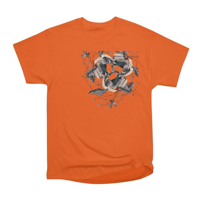Horses Women's Classic Unisex T-Shirt by erdavid's Artist Shop