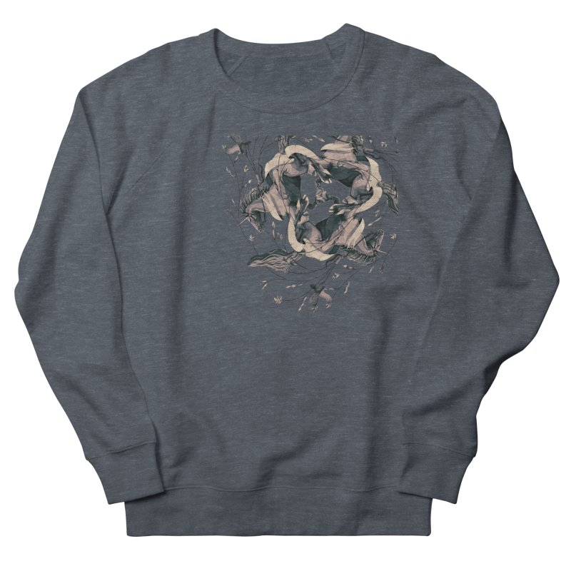 Horses Women's Sweatshirt by erdavid's Artist Shop