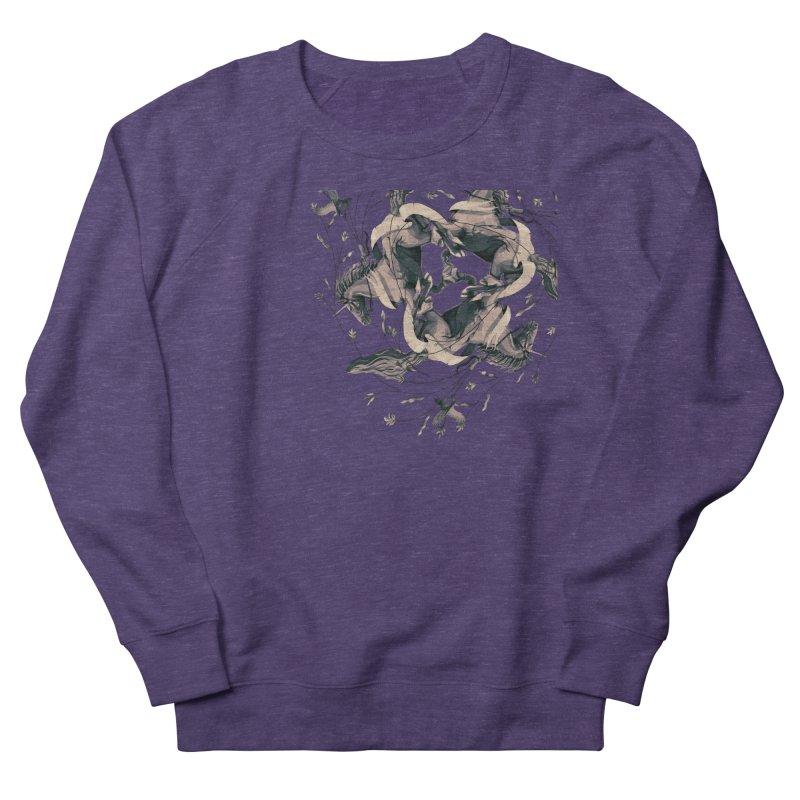 Horses Men's Sweatshirt by erdavid's Artist Shop