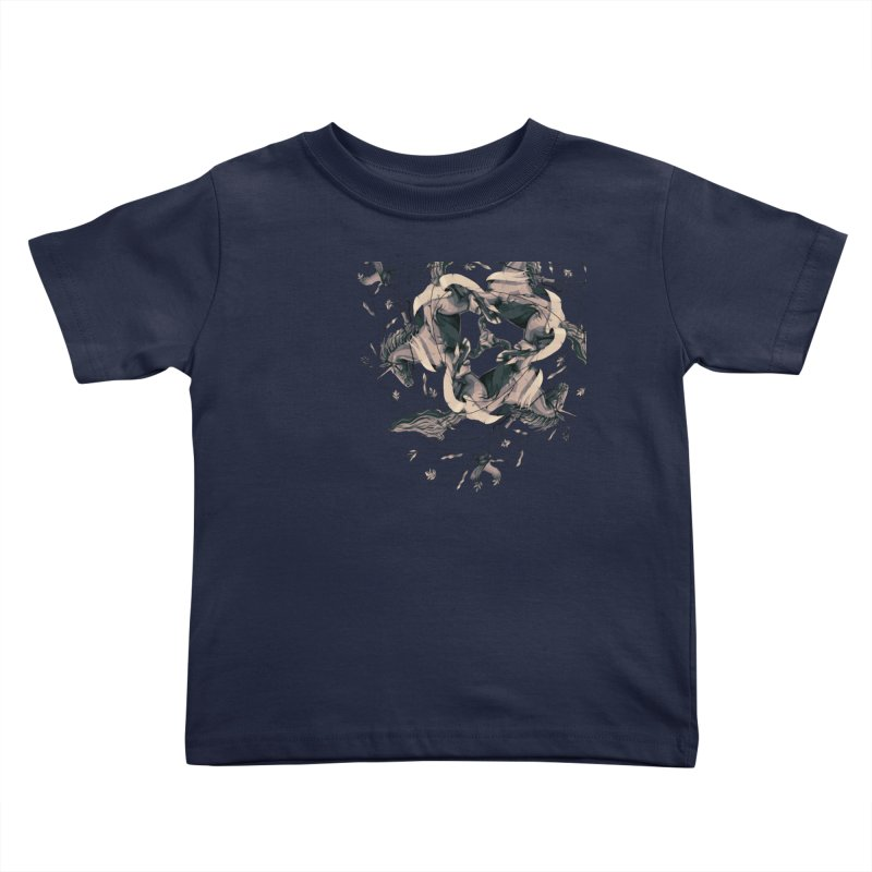 Horses Kids Toddler T-Shirt by erdavid's Artist Shop