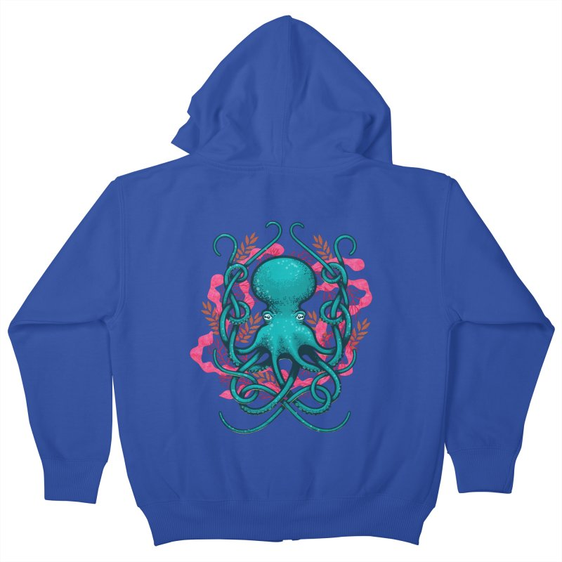 Octupus and Coral   by erdavid's Artist Shop