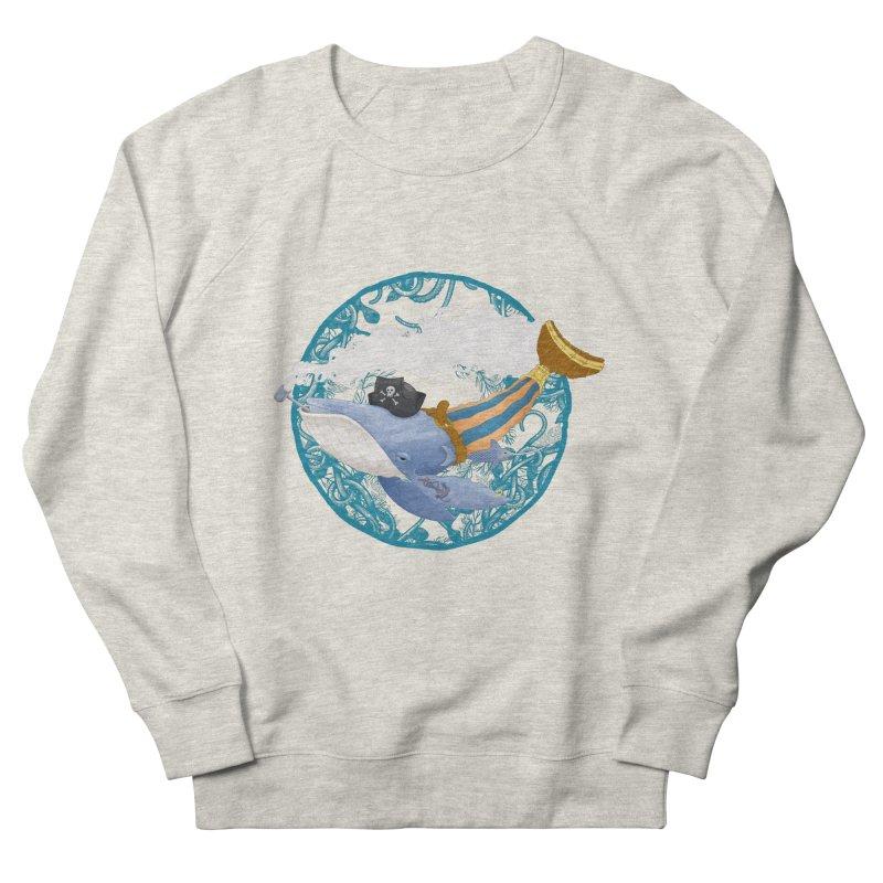 Pirate Whale Women's Sweatshirt by erdavid's Artist Shop