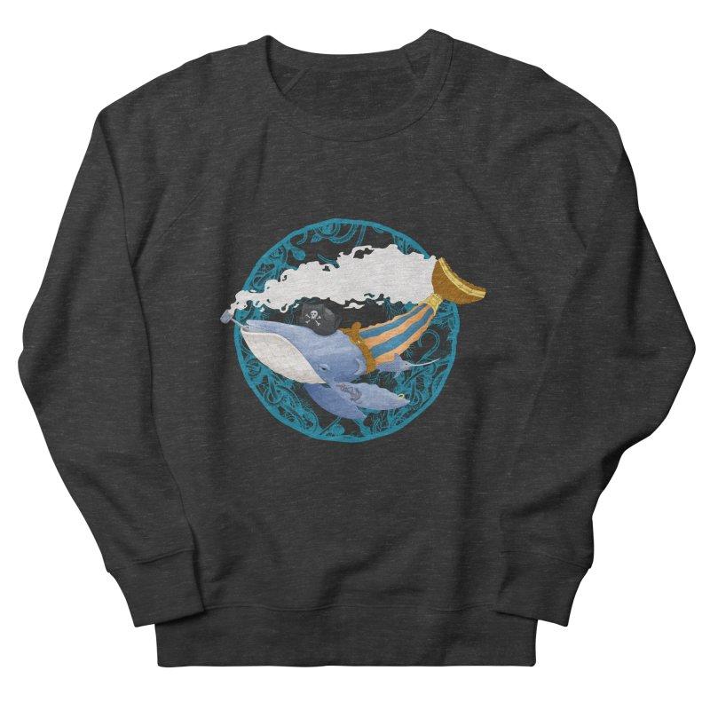Pirate Whale Men's Sweatshirt by erdavid's Artist Shop