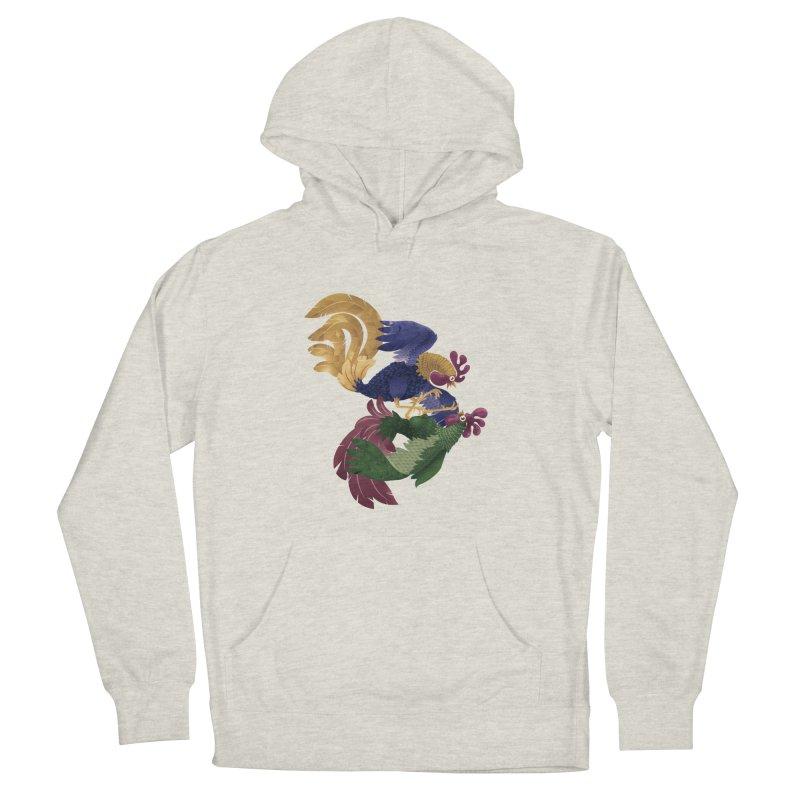 Roosters Men's Pullover Hoody by erdavid's Artist Shop