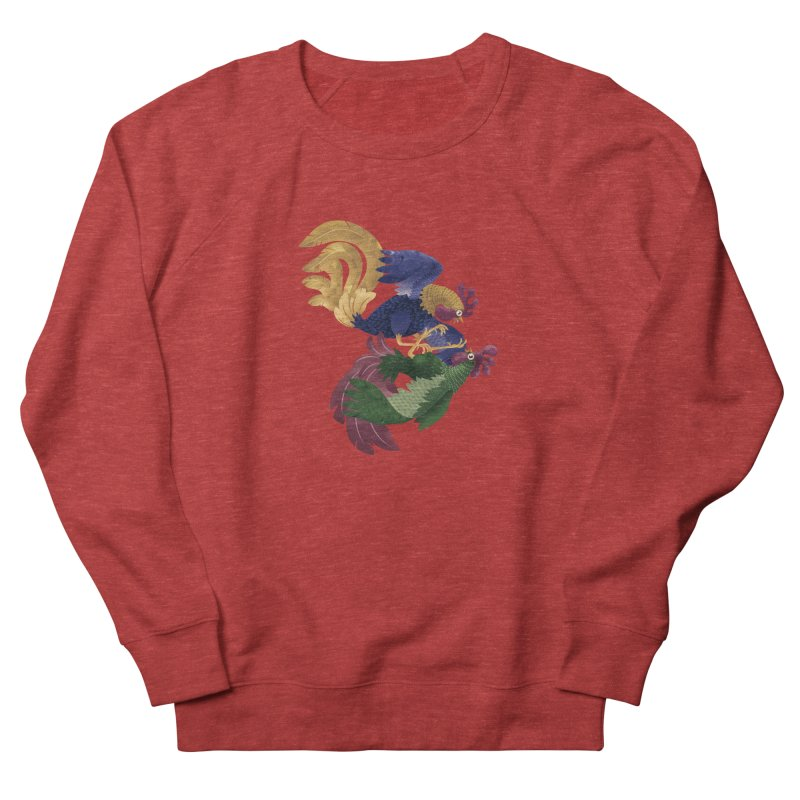 Roosters Women's Sweatshirt by erdavid's Artist Shop