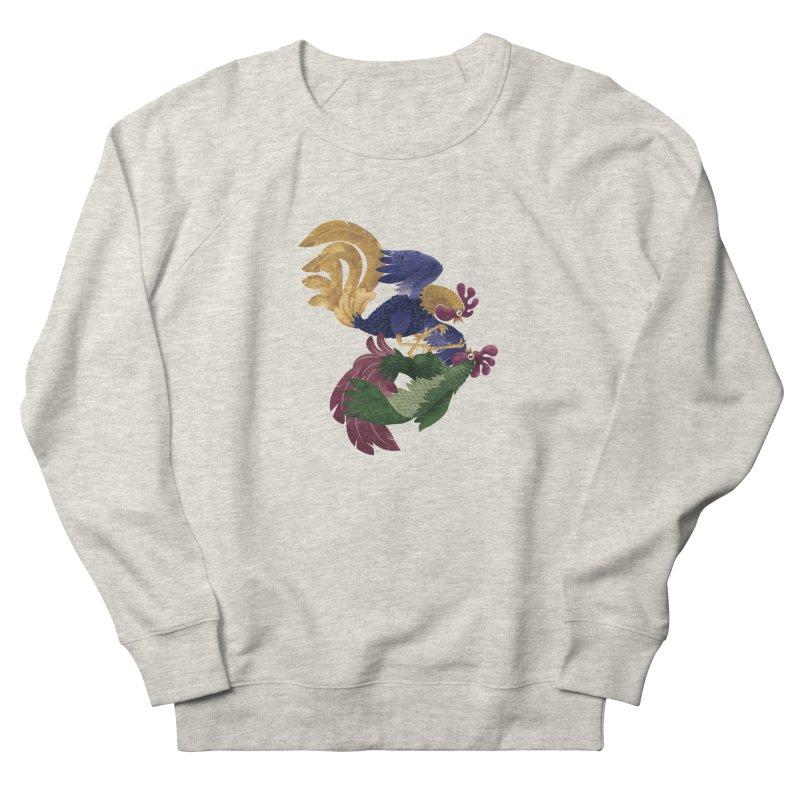 Roosters Men's Sweatshirt by erdavid's Artist Shop