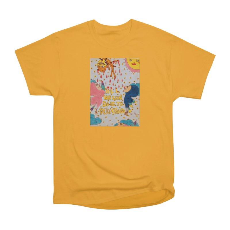 All We Can Do . . . Women's Heavyweight Unisex T-Shirt by ereiarthawaii's Shop