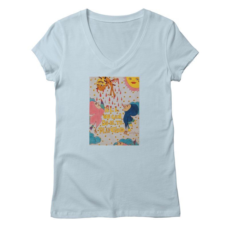 All We Can Do . . . Women's Regular V-Neck by ereiarthawaii's Shop