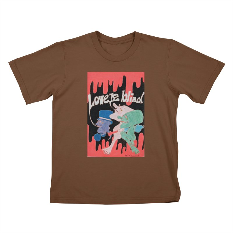 Love is Blind Kids T-Shirt by ereiarthawaii's Shop