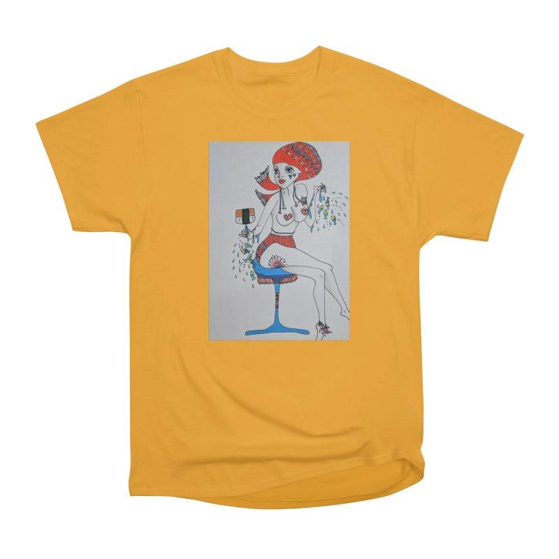Island Venus Women's Heavyweight Unisex T-Shirt by ereiarthawaii's Shop