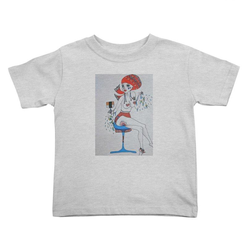 Island Venus Kids Toddler T-Shirt by ereiarthawaii's Shop