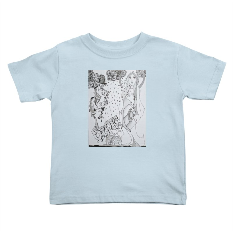 Holy Sacraments and Turtles Kids Toddler T-Shirt by ereiarthawaii's Shop