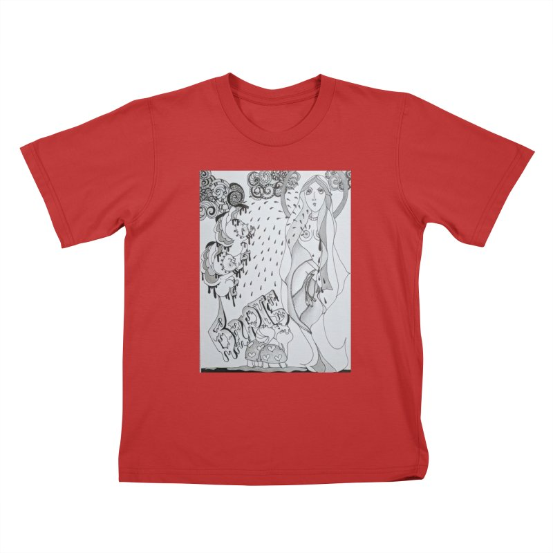 Holy Sacraments and Turtles Kids T-Shirt by ereiarthawaii's Shop