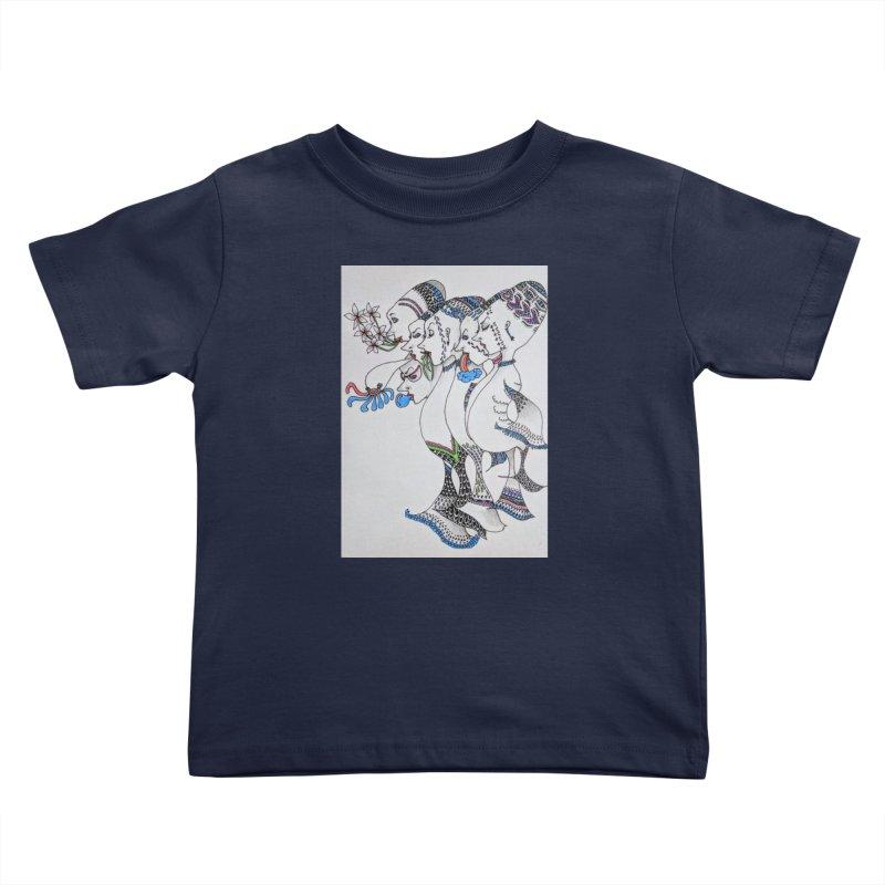 Fish. . . Bird . . . Whatever Kids Toddler T-Shirt by ereiarthawaii's Shop