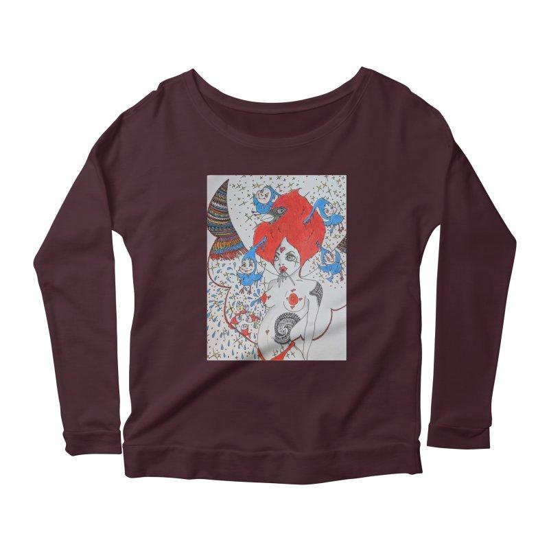 Soba Noodles Women's Scoop Neck Longsleeve T-Shirt by ereiarthawaii's Shop