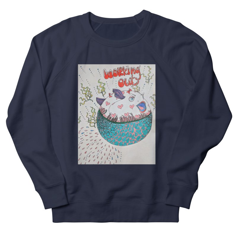 working out! Women's French Terry Sweatshirt by ereiarthawaii's Shop