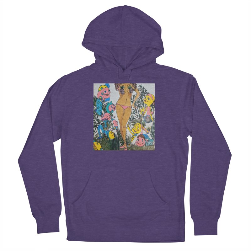 Oppai-neapple Women's French Terry Pullover Hoody by ereiarthawaii's Shop