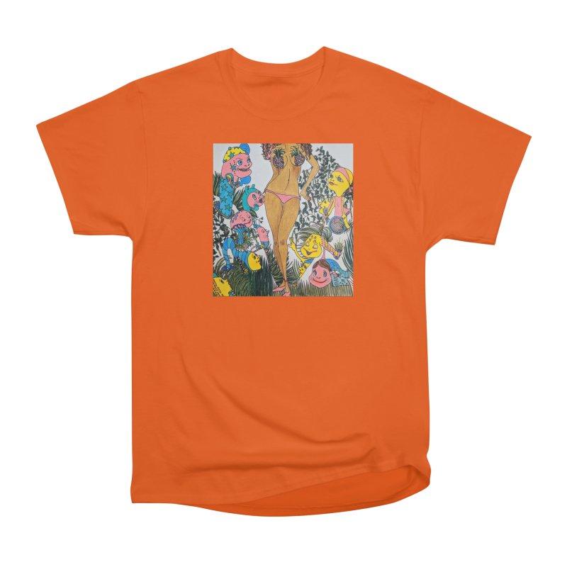 Oppai-neapple Women's Heavyweight Unisex T-Shirt by ereiarthawaii's Shop