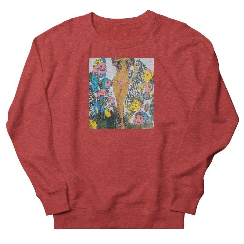 Oppai-neapple Women's French Terry Sweatshirt by ereiarthawaii's Shop