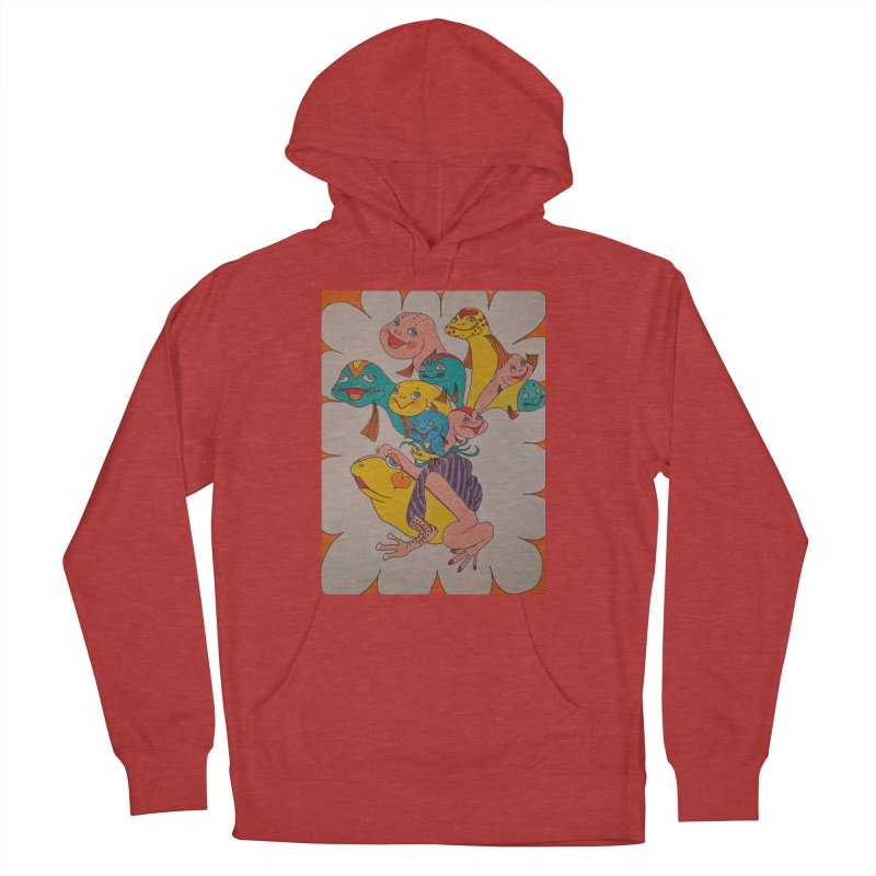 Frog Life Men's French Terry Pullover Hoody by ereiarthawaii's Shop