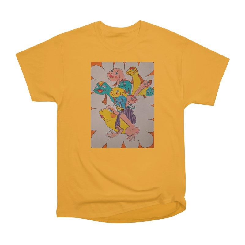 Frog Life Men's Heavyweight T-Shirt by ereiarthawaii's Shop