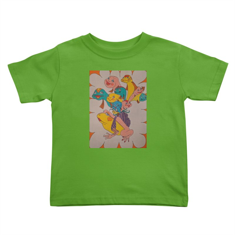 Frog Life Kids Toddler T-Shirt by ereiarthawaii's Shop