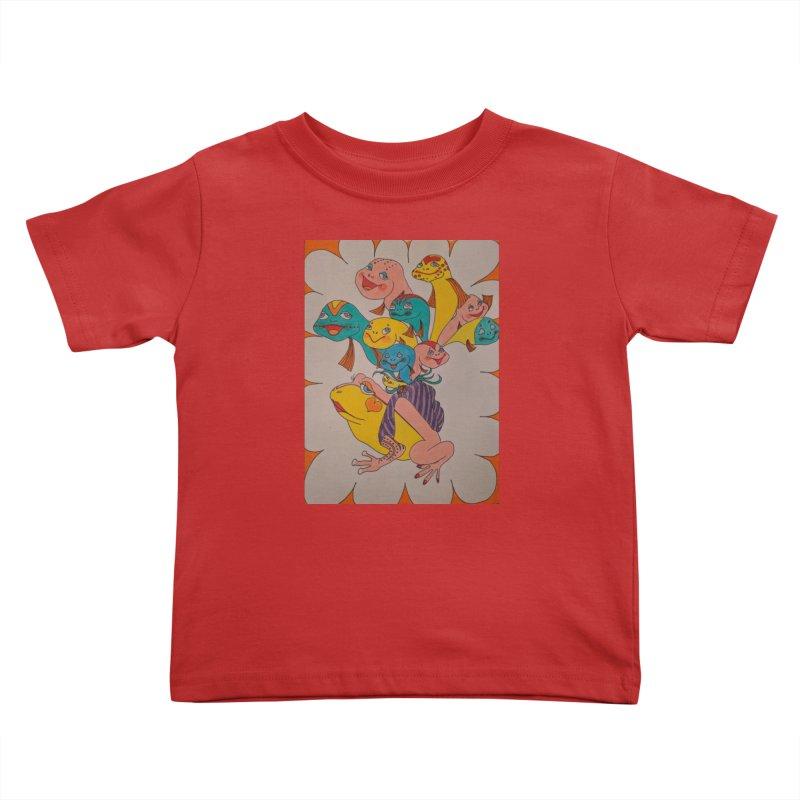 Frog Life Kids Toddler T-Shirt by ereiarthawaii's Shop