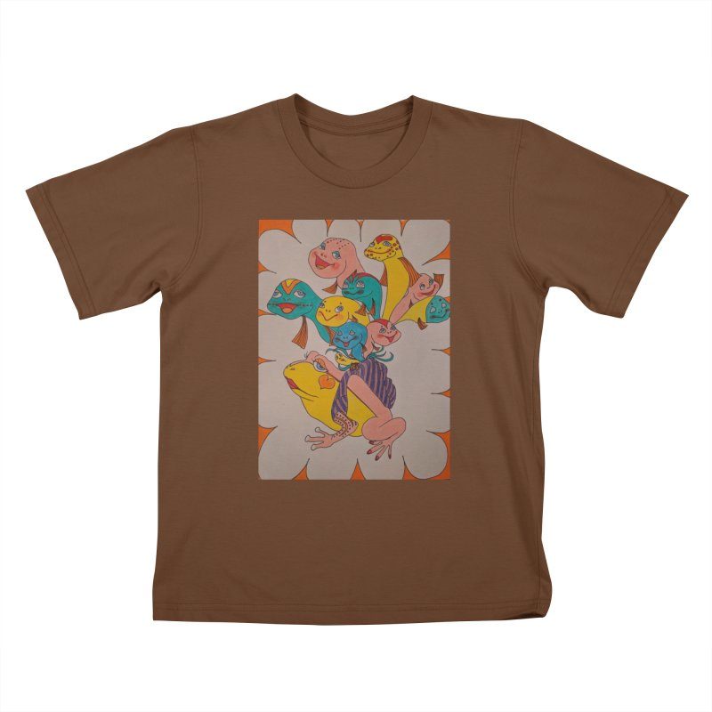 Frog Life Kids T-Shirt by ereiarthawaii's Shop