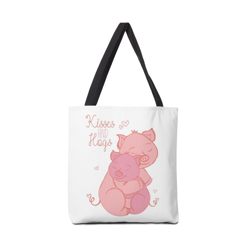 Kisses and Hogs Accessories Bag by Elena Roohi Harris Designs Artist Shop