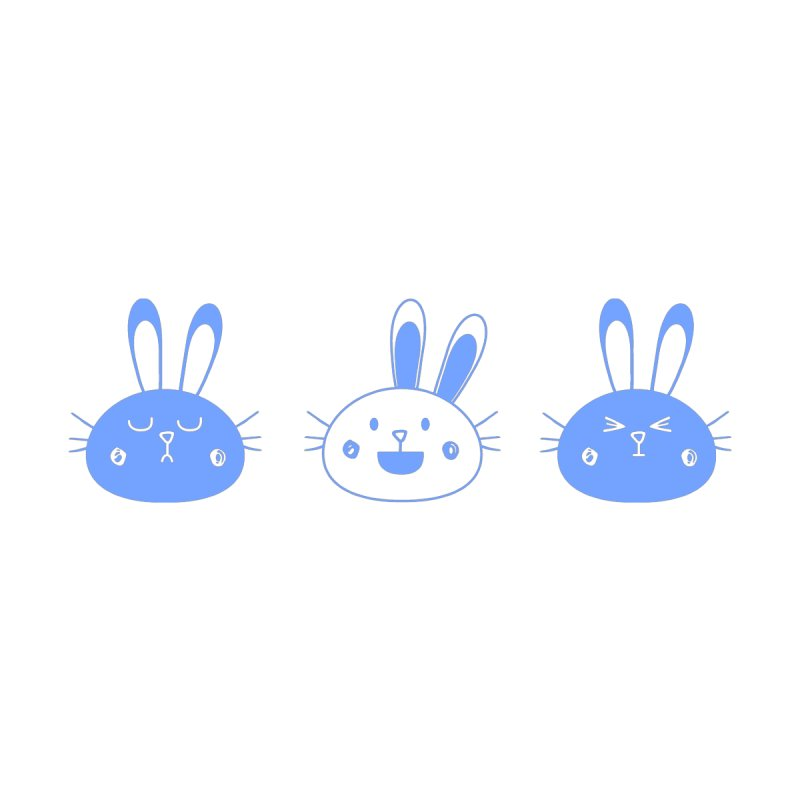Emotional Bunnies by Elena Roohi Harris Designs Artist Shop