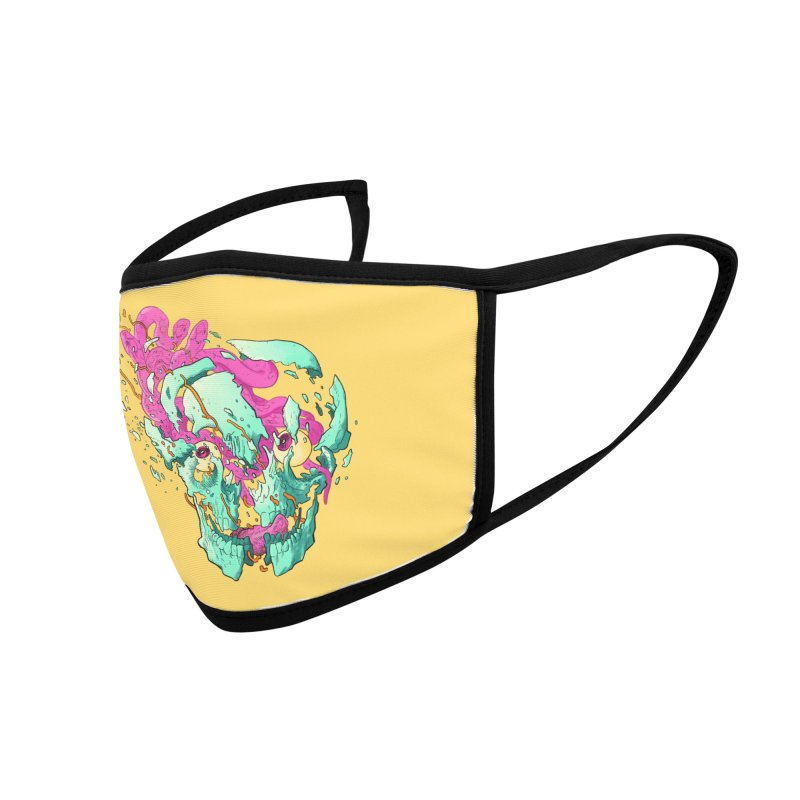 Killer Migraine Accessories Face Mask by Erica Fails at Merch