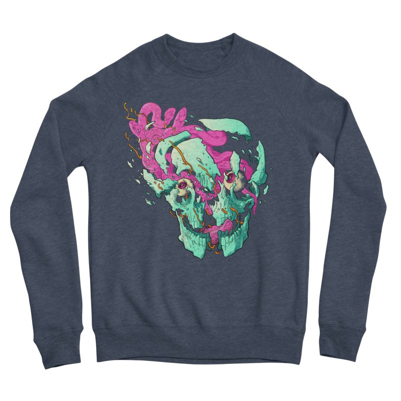 Killer Migraine Men's Sponge Fleece Sweatshirt by Erica Fails at Merch