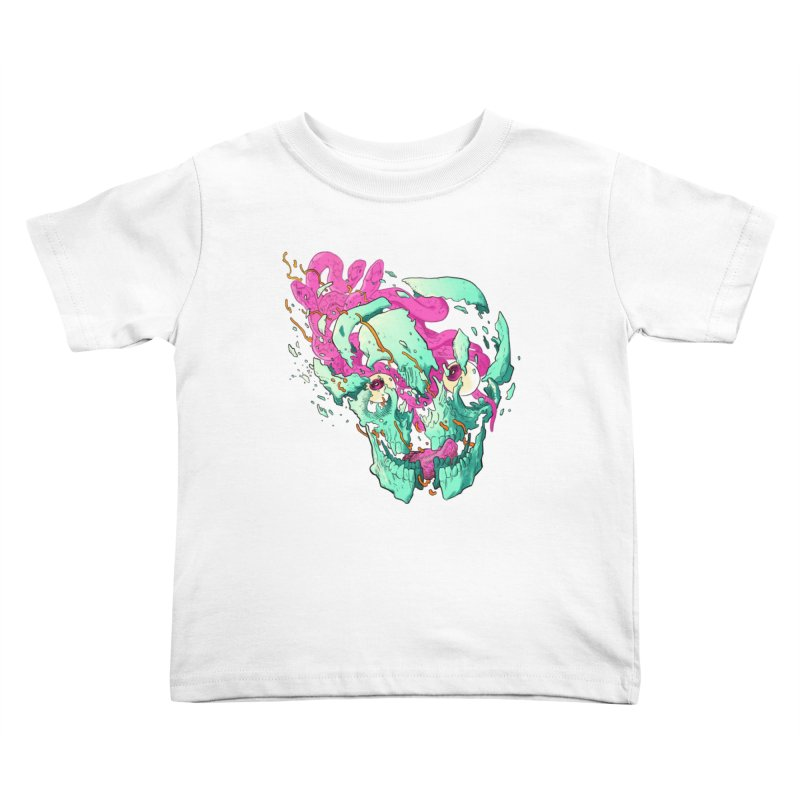 Killer Migraine Kids Toddler T-Shirt by Erica Fails at Merch