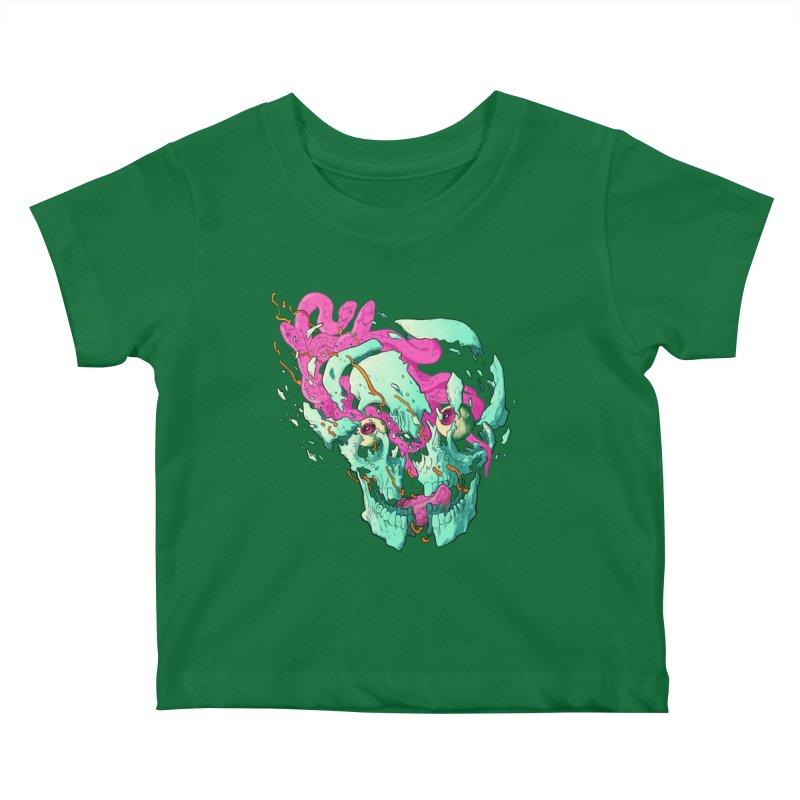 Killer Migraine Kids Baby T-Shirt by Erica Fails at Merch