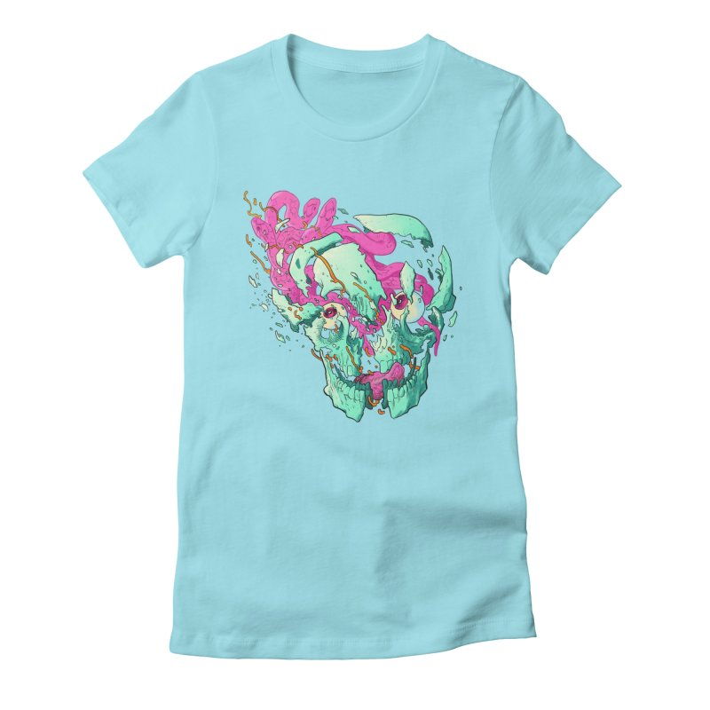 Killer Migraine Women's Fitted T-Shirt by Erica Fails at Merch
